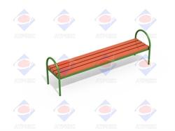 Скамейка без спинки МФ 1.04 - фото 5980