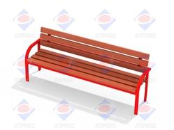 Скамейка со спинкой МФ 1.10 - фото 5984