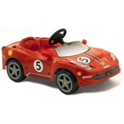 Детский электромобиль Феррари 458 Challenge с электрическим мотором 6V - фото 6525