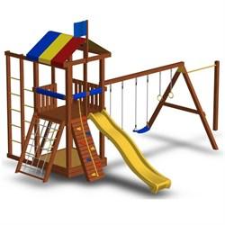 Детская площадка для дачи Джунгли 6СТ - фото 7713