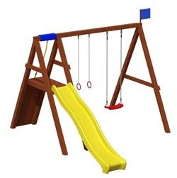 Детская игровая площадка Джунгли 1 - фото 7718