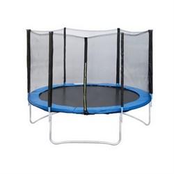 Батут с защитной сеткой Trampoline 10 диаметр 3,0 м - фото 8004