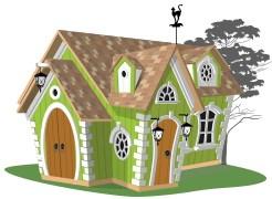 Детский игровой домик Венди - фото 8195