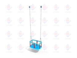 ДИО 1.204 к - Подвес резиновый на короткой цепи (люлька) - фото 8472