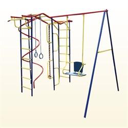 Детский спортивный комплекс  Пионер Вираж дачный со спиралью - фото 8669