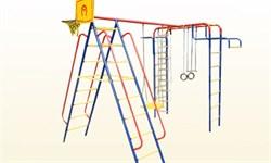 Детский спортивный комплекс  Пионер качели ЦК дачный - фото 8686