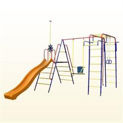 Детский спортивный комплекс  Пионер Морячок дачный с горкой - фото 8690