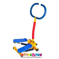 Тренажер детский механический Степпер с ручкой - фото 8853