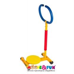 Тренажер детский механический Твистер с ручкой - фото 8857