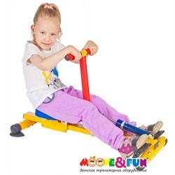 Тренажер детский механический Гребля NEW - фото 8866
