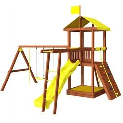 Детская площадка для дачи Джунгли 4Р - фото 8899