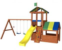 Детская площадка для дачи Джунгли 8М - фото 8901
