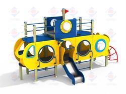 Детский игровой комплекс Подводная лодка Н=700 ДИК 2.39 - фото 9570