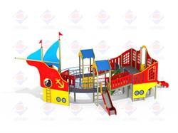 Детский игровой комплекс Баркас Н=1500; Н=1200 ДИК 7.08 - фото 9578