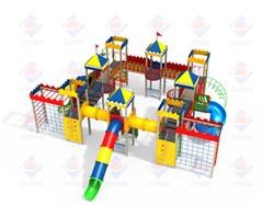 Детский игровой комплекс Русские сказки Н=1800 ДИК 8.015 - фото 9580