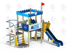 Детский игровой комплекс Дежурная часть ДПС Н=1500 ДИК 9.113 - фото 9582