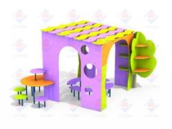 Модульный выставочный комплекс Вдохновение ДОУ 5.04 - фото 9675