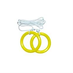 Гимнастические кольца круглые с веревкой - фото 9931