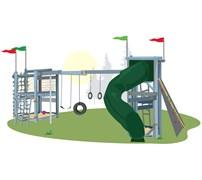 Детский игровой комплекс Винни Пух