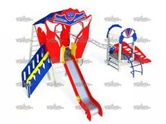 Детский игровой комплекс Автобот Дести Н=700, 1500