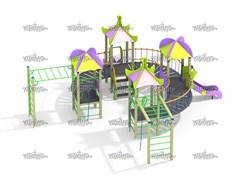 Детский игровой комплекс Веселый круг Н=900