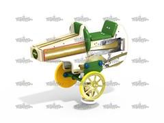 Качалка на пружине Пулемет