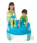 Столик для игр с водой с водяной мельницей