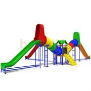 Детский игровой комплекс Солнечные лучи
