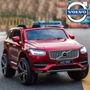 Электромобиль BARTY  VOLVO XC90 вишнёвый-глянец