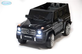 Электромобиль BARTY  Mercedes-Benz-G65-AMG чёрный-глянец