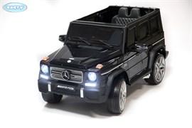 Электромобиль BARTY  Mercedes-Benz-G65-AMG чёрный-глянец