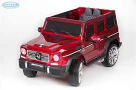 Электромобиль BARTY  Mercedes-Benz-G65-AMG вишнёвый-глянец