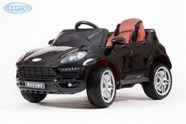Электромобиль BARTY  М003МР (Porsche Macan) чёрный-глянец