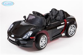Электромобиль BARTY  М002Р (Porsche 918 Spyder) чёрный-глянец