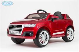Электромобиль Audi Q7, Красный, Глянцевый