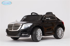 Электромобиль Mercedes S600, Чёрный, Глянцевый