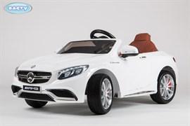 Электромобиль Mercedes S63, Белый, обычный