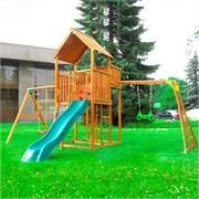 Детские городки Jungle Palace + Swing X'tra + рукоход с гимнастическими кольцами
