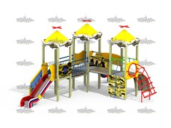 Детский игровой комплекс Форпост Н=1200 ДИК 3.117