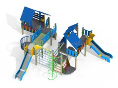 Детский игровой комплекс ДПС Н=1200 ДИК 9.161