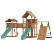 Детский городок Jungle Palace + bridge Link+ cottage + climb
