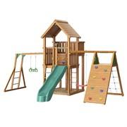 Детский городок Jungle Palace + climb + Рукоход с гимнастическими кольцами
