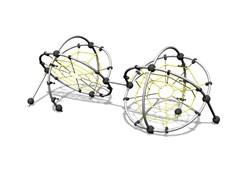 УК 7.605.11 Два шара с сетками паутинами цинк
