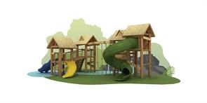 Игровой комплекс «Тропический, угловой»