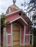 Двухэтажный домик Принцессы