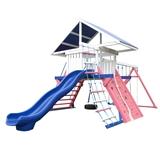 Детская игровая площадка Солнышко 8-1.80м (разноцветная покраска вариант №1)