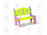 Скамейка со спинкой МФ 1.31