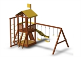 Детская площадка для дачи Джунгли 6С