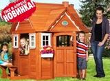 Детский игровой домик Кедровый дом