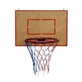 Баскетбольное кольцо среднее со щитом из фанеры.
